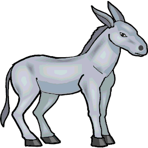 300x300 Donkey Clip Art Black And White Free Clipart Images 3 Image