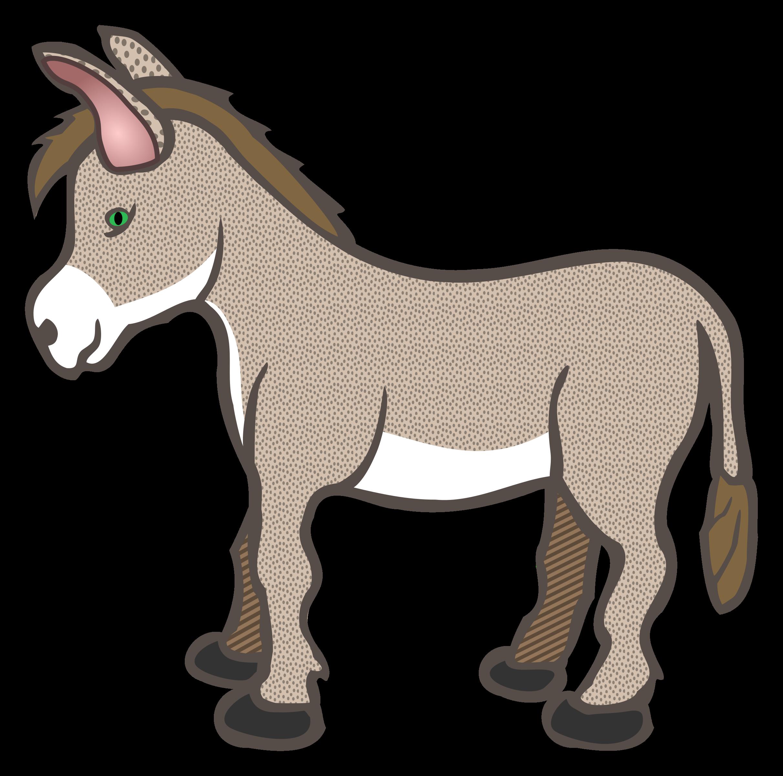 2424x2400 Animl Clipart Donkey