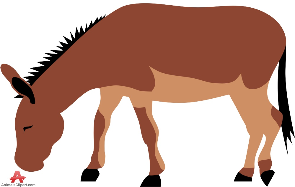 999x635 Donkey Grazing Clipart Free Clipart Design Download