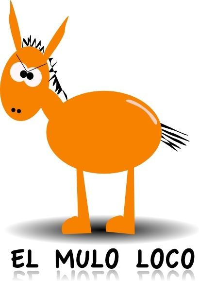 410x578 Donkey Clip Art Free Vector In Open Office Drawing Svg ( Svg
