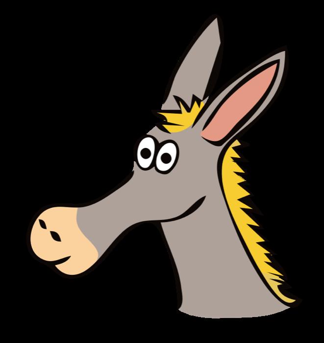 661x700 Mule Clipart Donkey