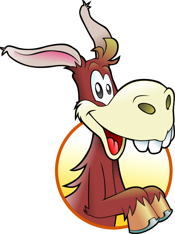598x800 Cartoon Donkey Clipart, Explore Pictures