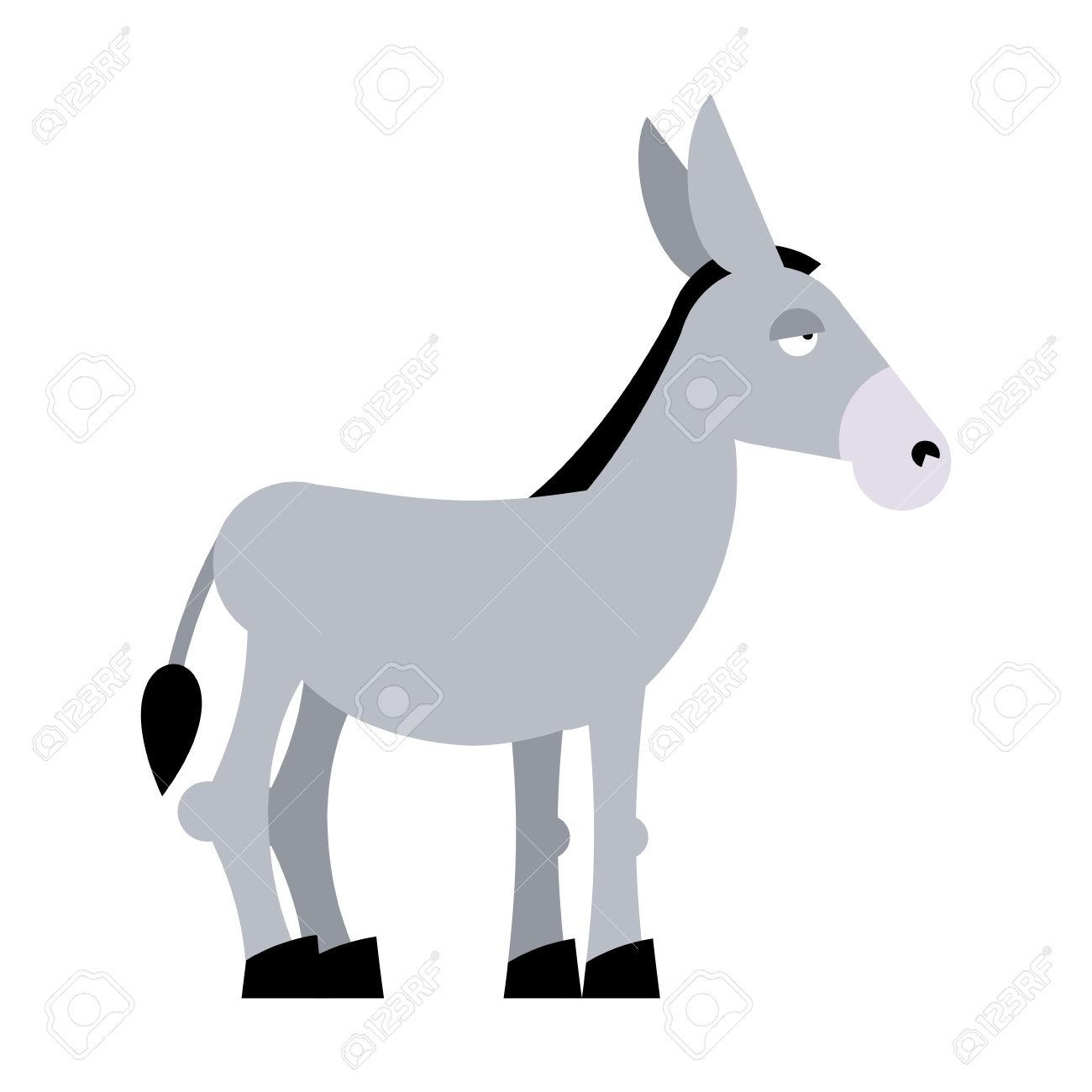 1300x1300 Domestic Donkey Clipart