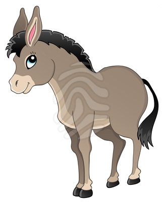 325x400 Donkey Clipart Free Clipart Images 5 Image
