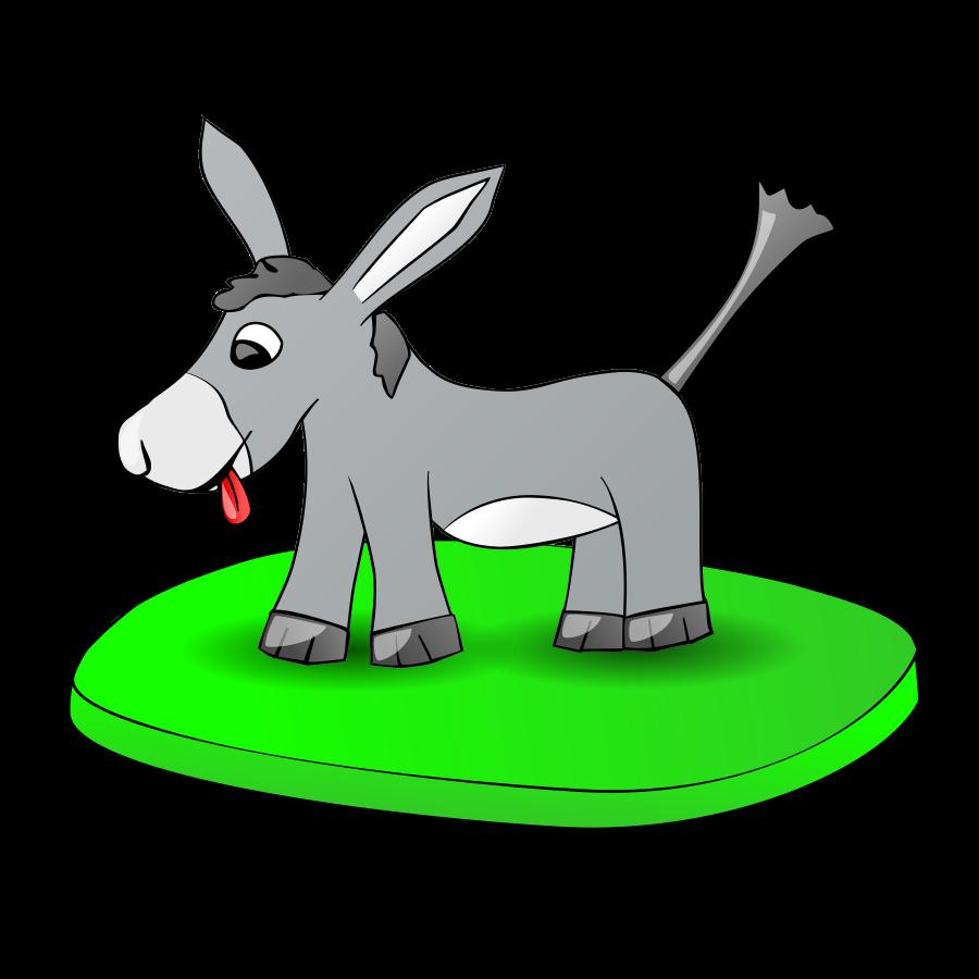 900x900 Free Donkey Clipart Png, Donkey Icons
