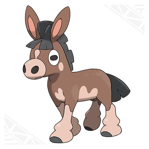 500x500 Grey Donkey Cliparts