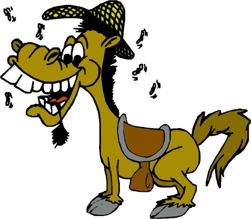 818x714 Cartoon Donkey