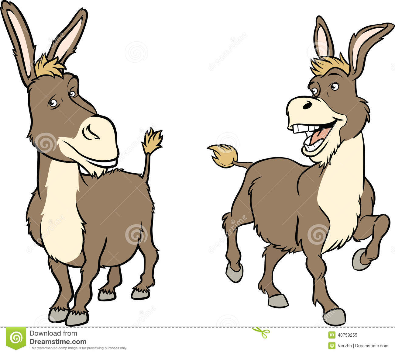 1300x1164 Donkey Clipart Two