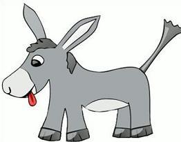 262x206 Free Donkey Clipart