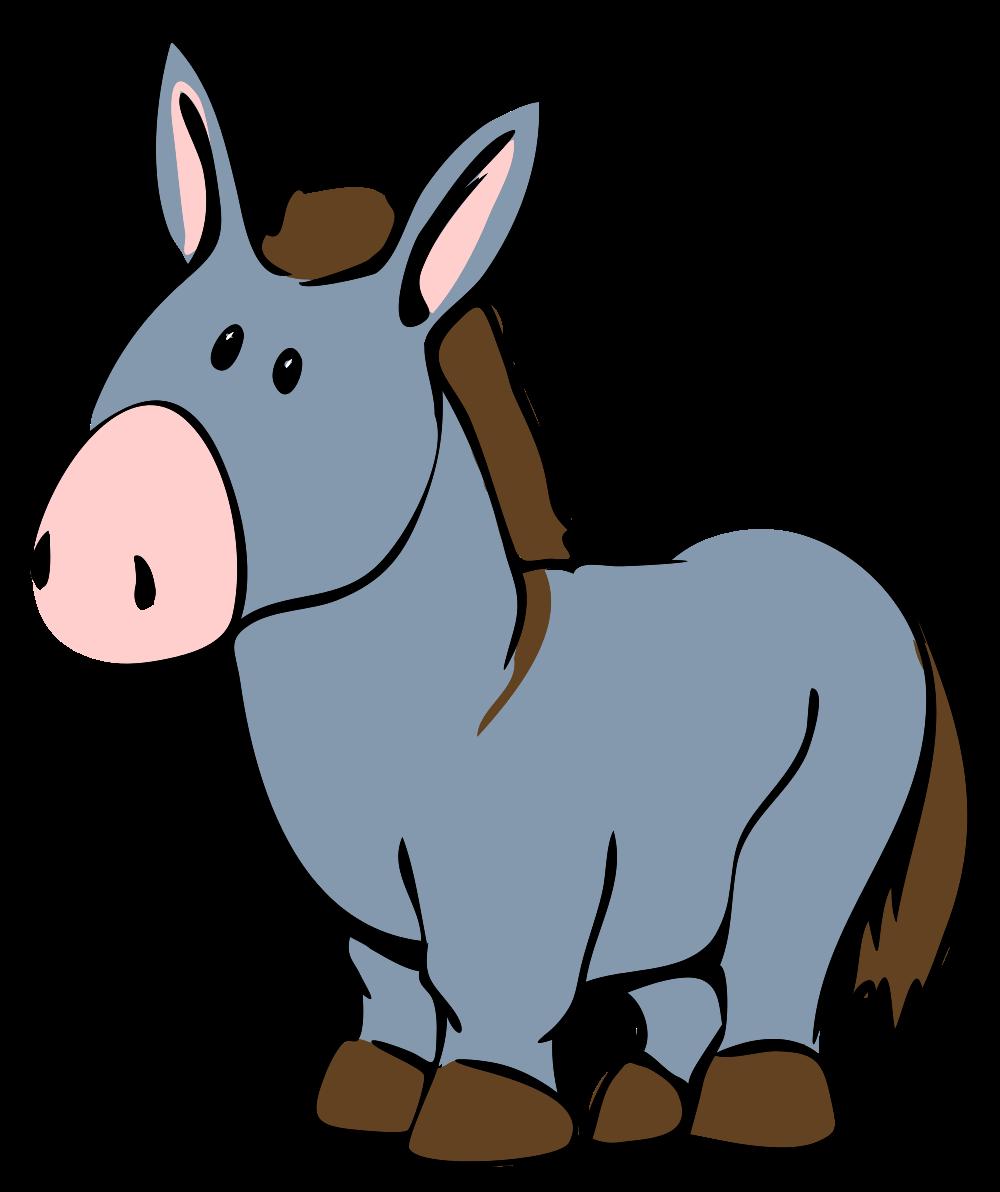 1000x1192 Free To Use Amp Public Domain Donkey Clip Art