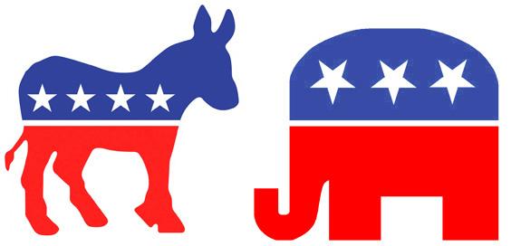 575x272 Political Animals Republican Elephants And Democratic Donkeys