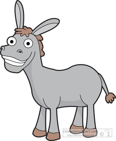 453x550 Cartoon Donkey Clipart