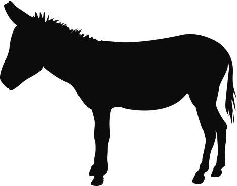 468x366 Shadows Clipart Donkey