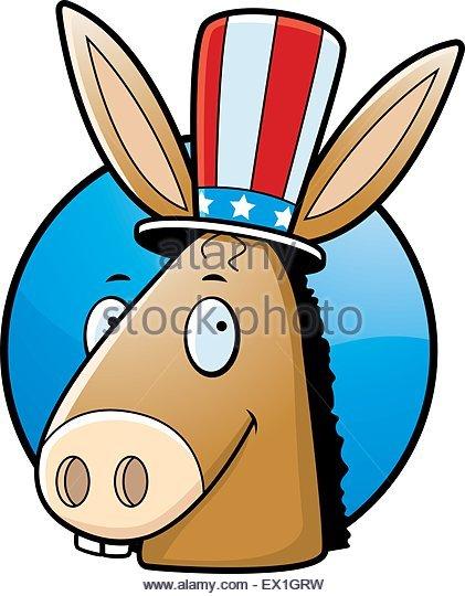 421x540 Democrat Donkey Cartoon Stock Photos Amp Democrat Donkey Cartoon