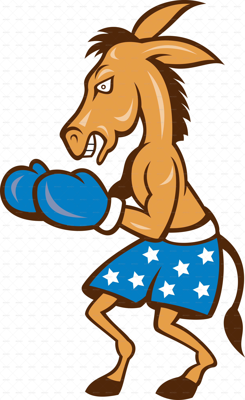 3777x6154 Donkey Jackass Boxing Stance By Patrimonio Graphicriver