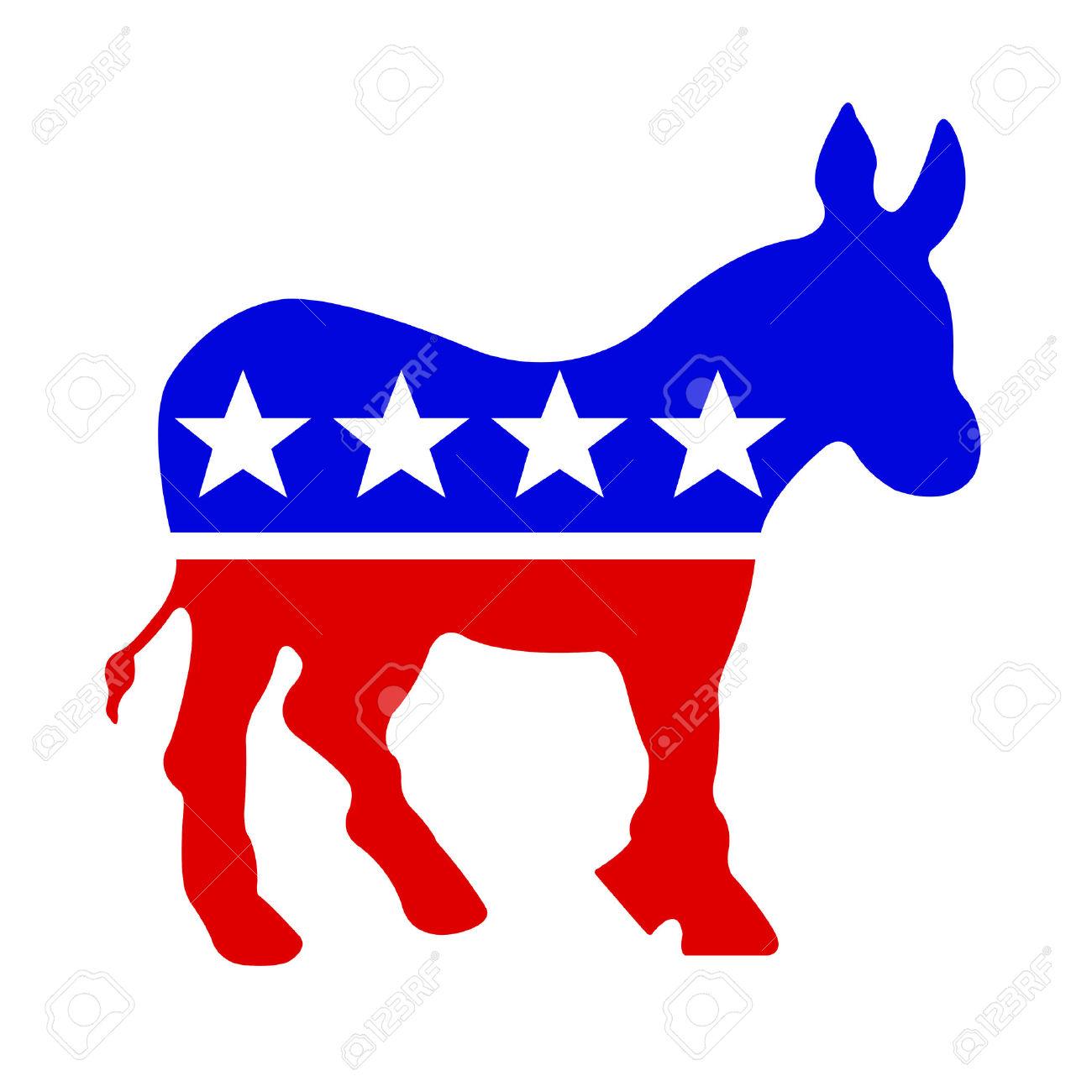 1300x1300 Donkey Clipart Democratic