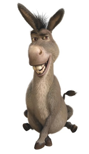 288x500 Graphics For Donkey Shrek Graphics
