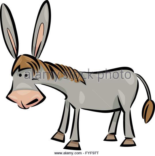 538x540 Cartoon Donkey Stock Photos Amp Cartoon Donkey Stock Images