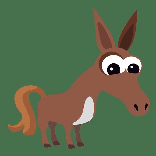 512x512 Donkey Cartoon Christian Nativity