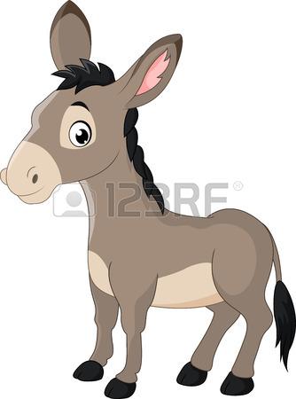 334x450 Happy Donkey Cartoon Royalty Free Cliparts, Vectors, And Stock
