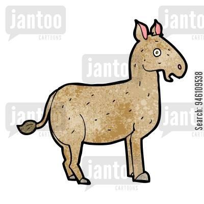 400x400 Mule Cartoons