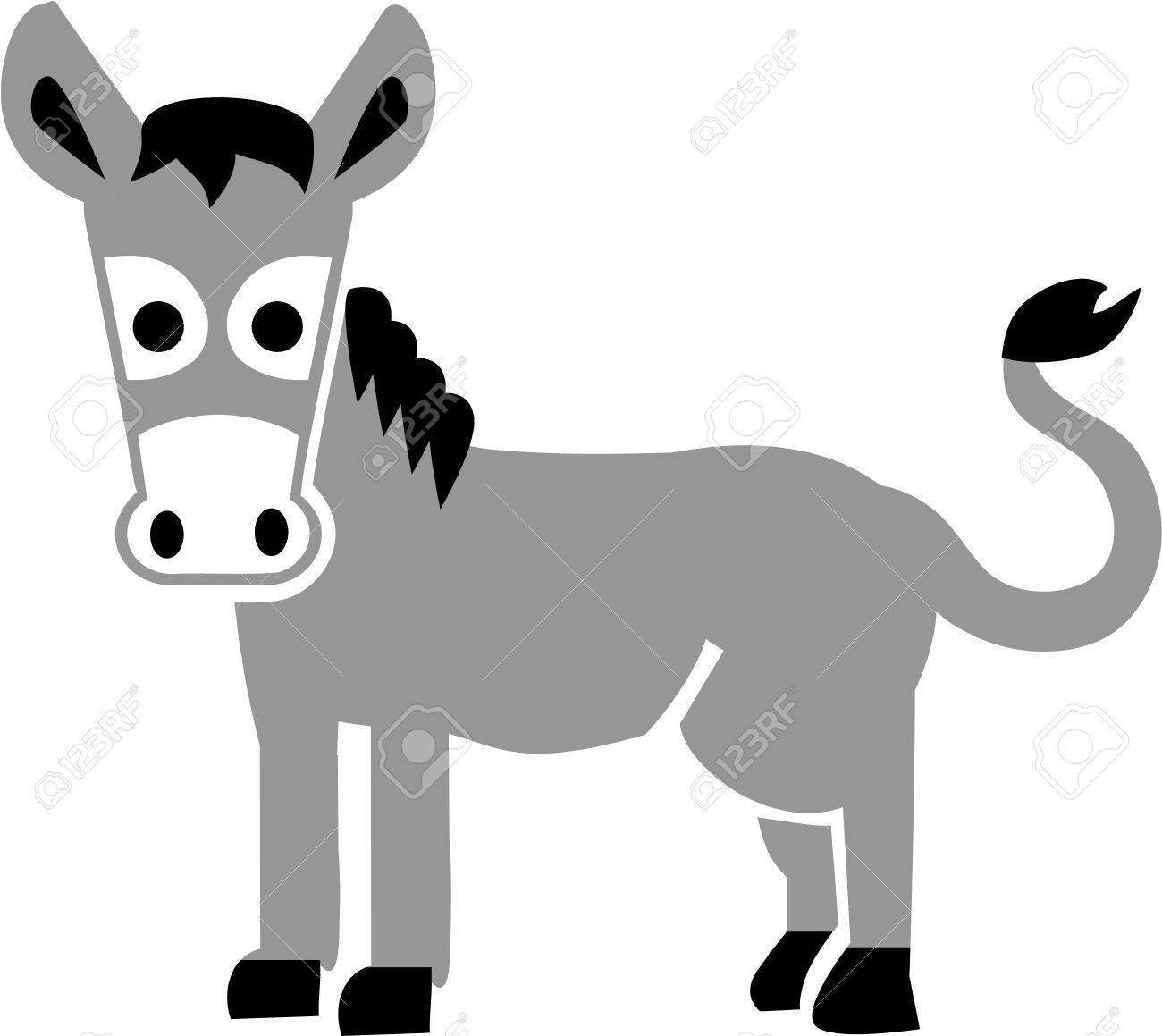 1300x1159 Cartoon Donkey Royalty Free Cliparts, Vectors, And Stock