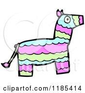 175x190 Clipart Of A Talking Donkey Pinata