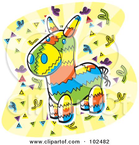 450x470 Clipart Pinata Picture Cartoon