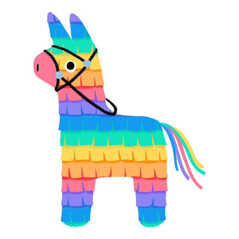 Donkey Pinata Cliparts | Free download best Donkey Pinata ...
