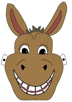 236x334 The Best Donkey Mask Ideas Face Masks For Kids