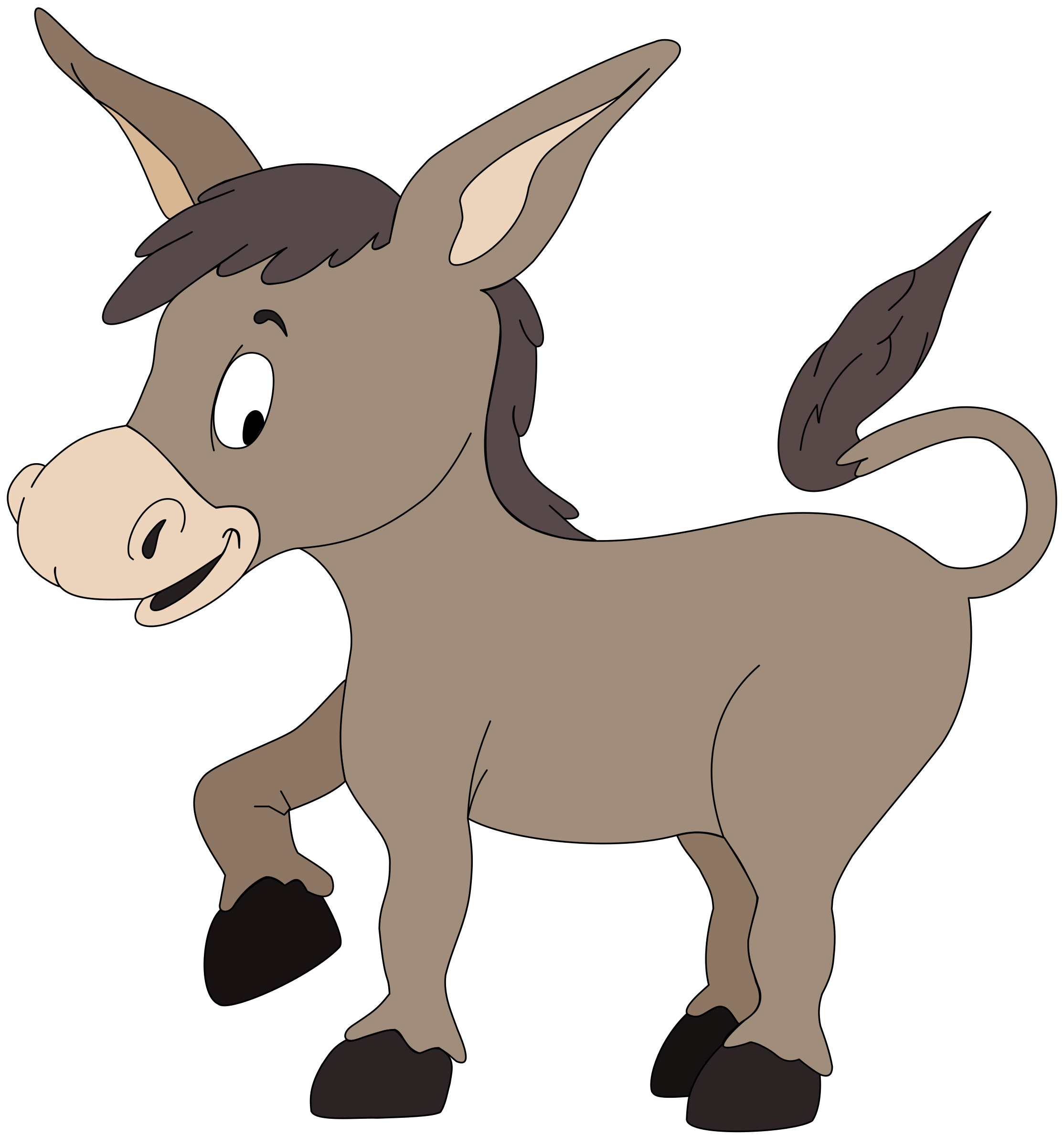 2228x2400 Top 61 Donkey Clipart