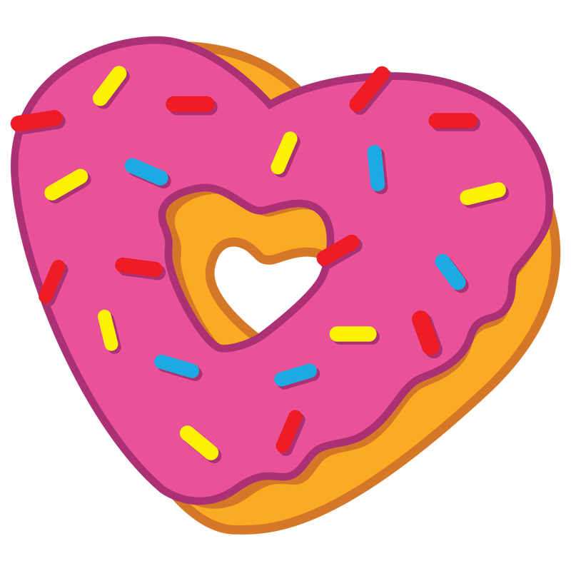 Donut Clipart | Free download on ClipArtMag