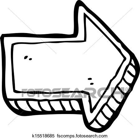 450x446 Clip Art Of Retro Cartoon Quiver Of Arrows K15075567