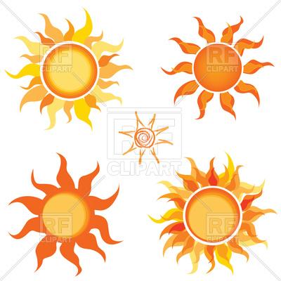 400x400 Sun Icon Doodle Line Art Royalty Free Vector Clip Art Image