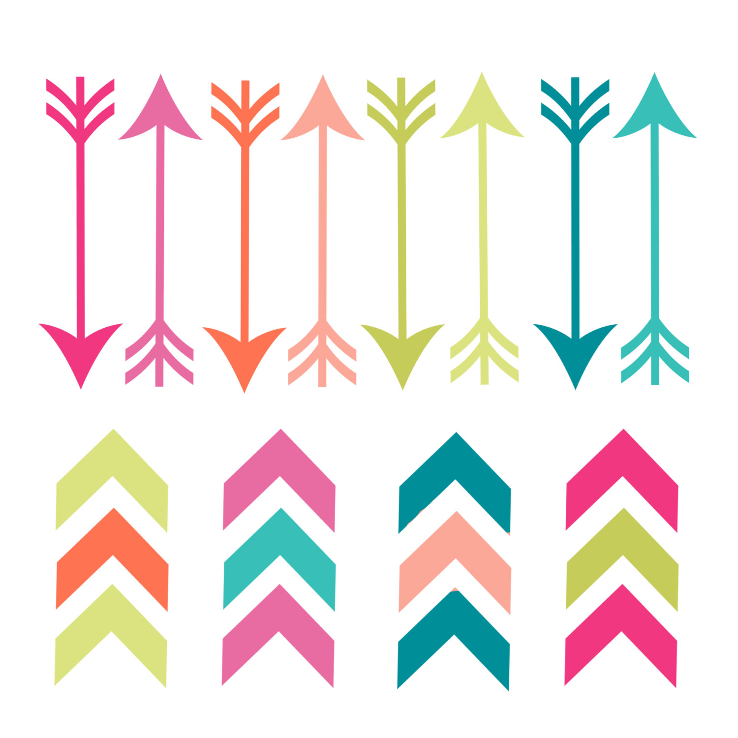 1500x1500 Arrow Doodle Clipart Free Collection