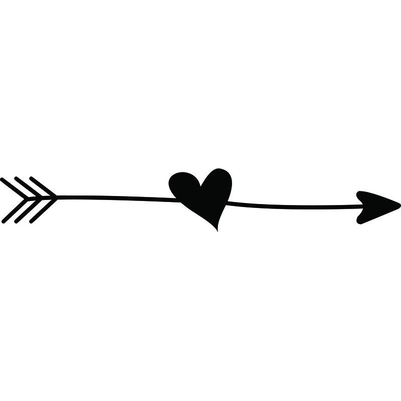 800x800 Arrow Heart Love Ding Doodle Line Break Cute Svg Eps Png