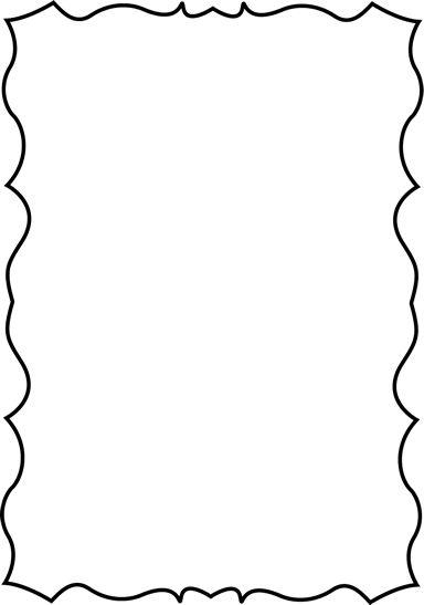 384x547 Best Page Borders Ideas Doodle Borders, Good