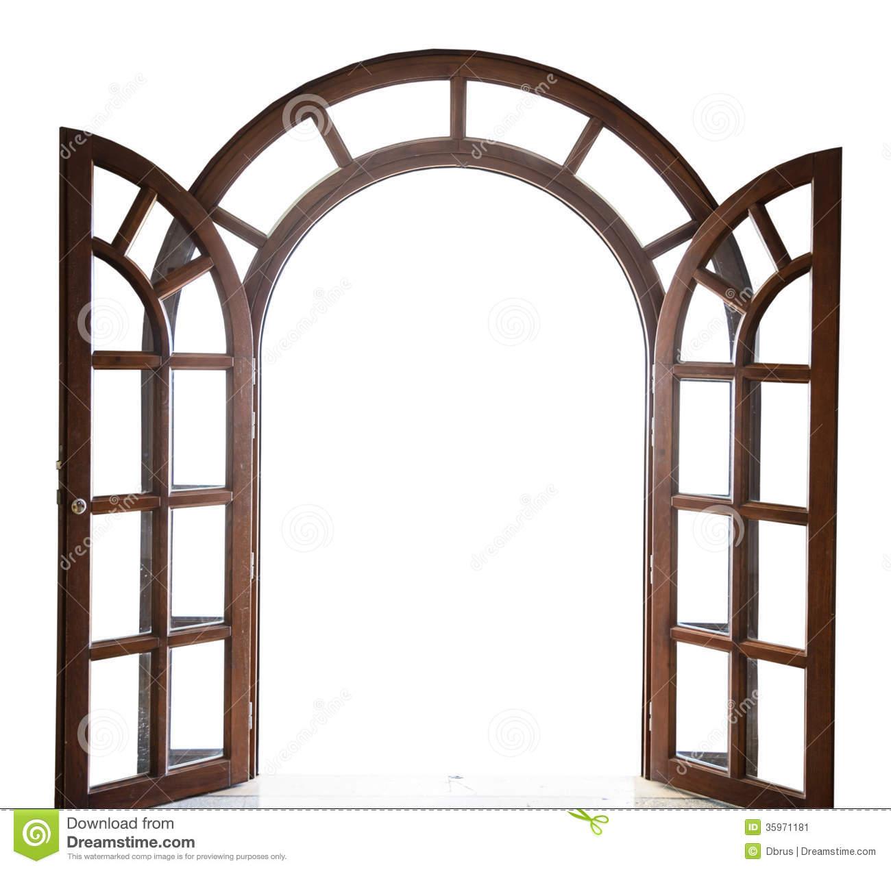 1300x1270 Open Door Clipart Wooden