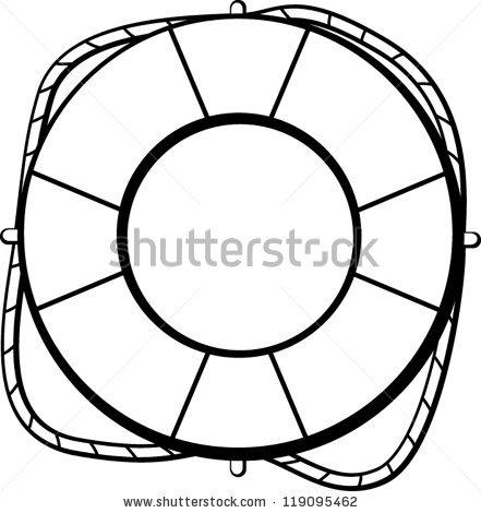 441x470 Ring Buoy Clip Art