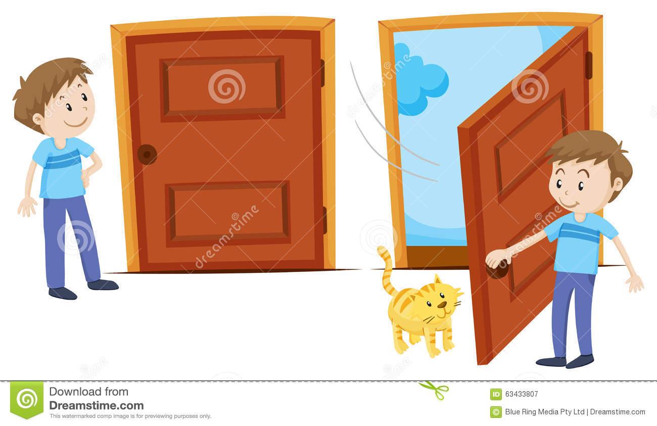 1300x843 Door Clipart Close Door