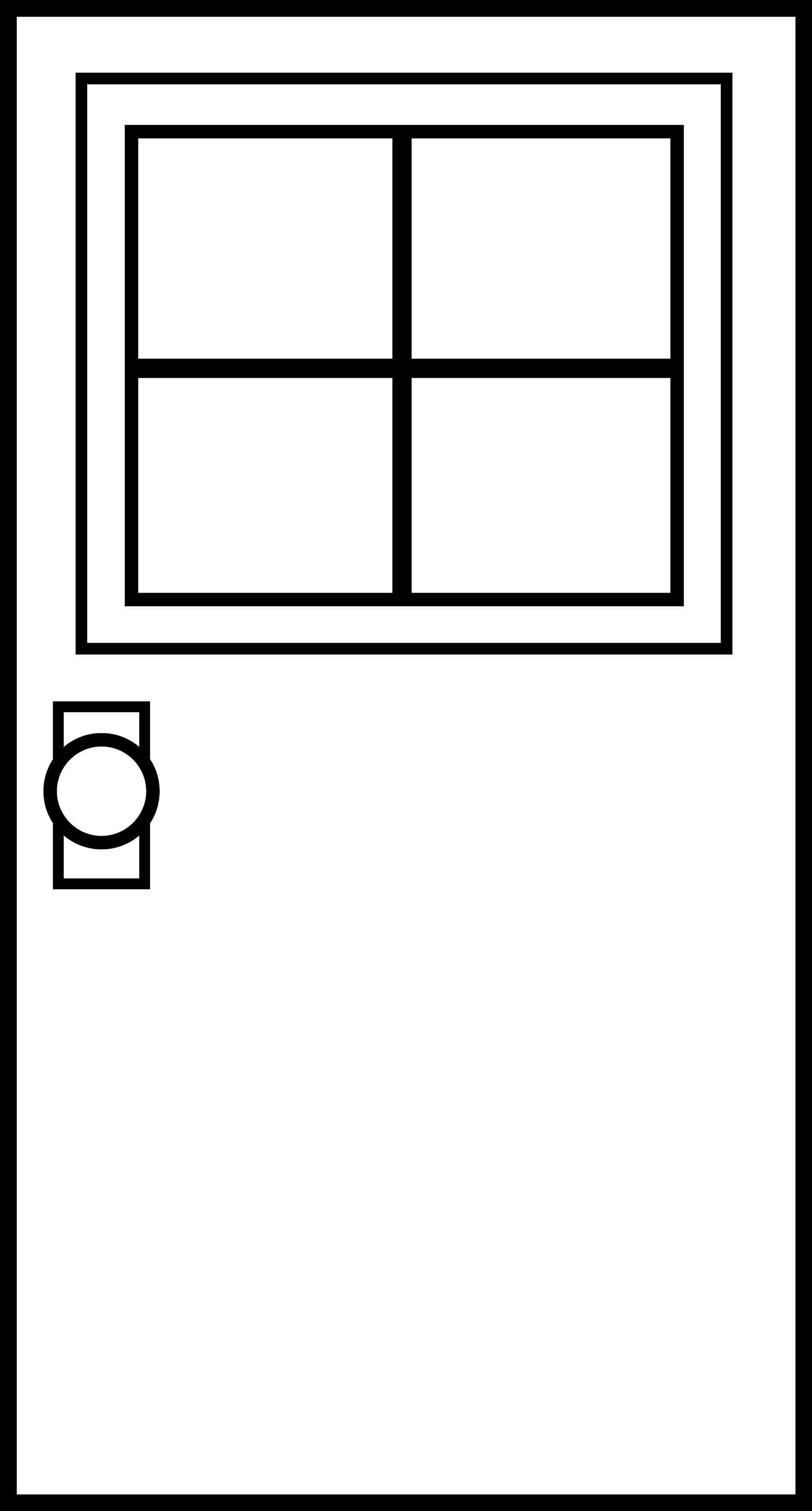 1899x3531 Garage Door Clipart Remicooncom