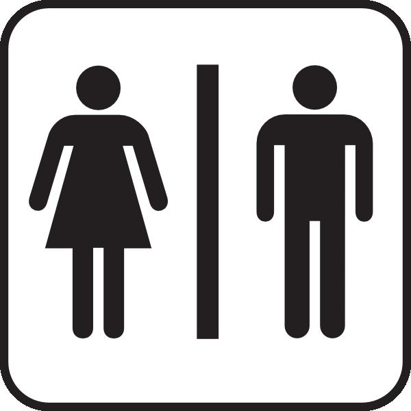 600x600 Men Women Bathroom Clip Art
