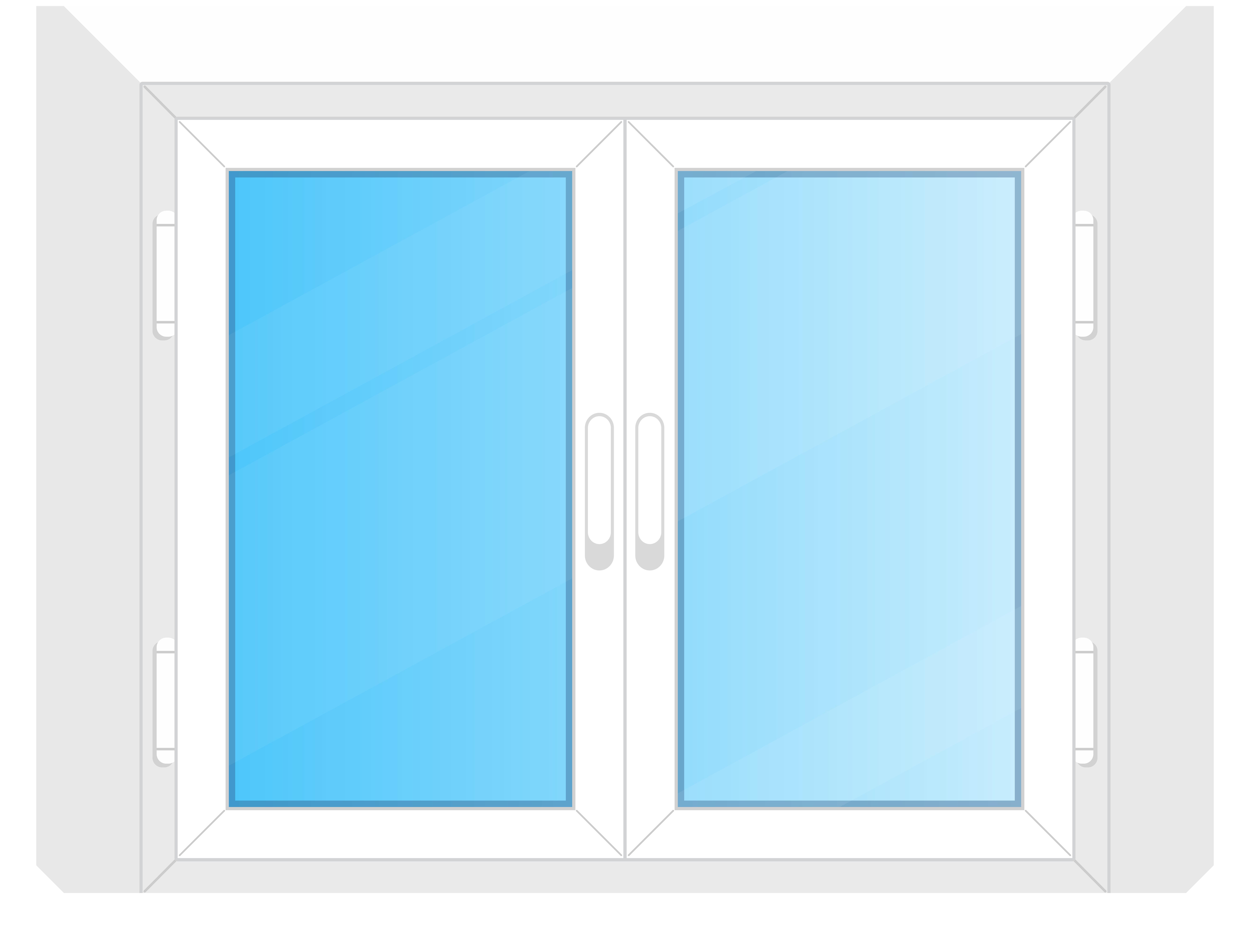 8000x6094 Window Png Clip Art