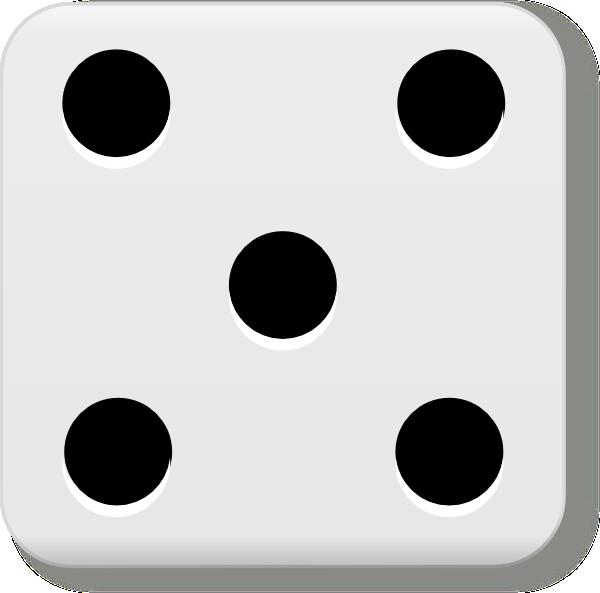 600x593 Dice 7 Dots Clipart