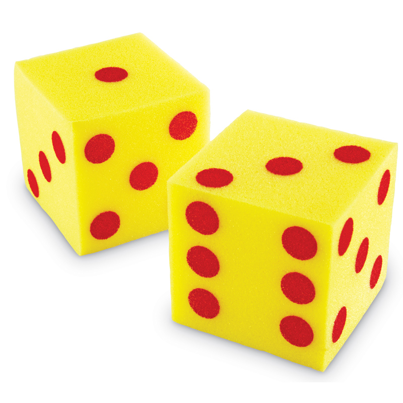 800x800 Giant Soft Dots Cubes Dice From Learning Resources Wwsm
