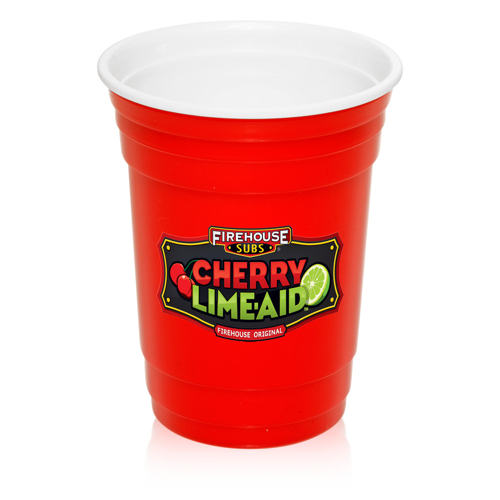 1000x1000 Custom 16 Oz. Double Wall Plastic Party Cups Pg138