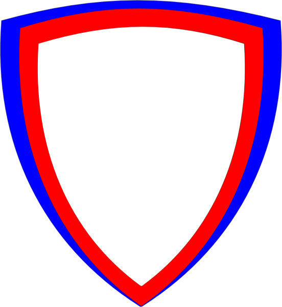 552x600 Double Shield Png, Svg Clip Art For Web