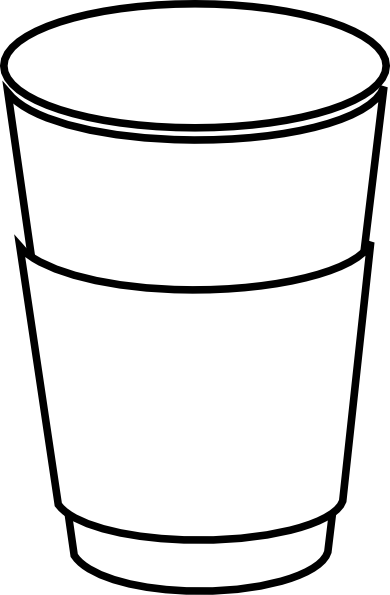 390x595 Starbucks Cup Clipart