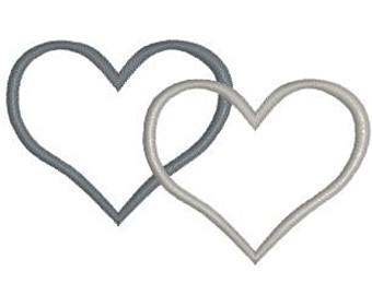 340x270 Double Heart Design Etsy