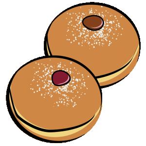 Doughnuts Clipart